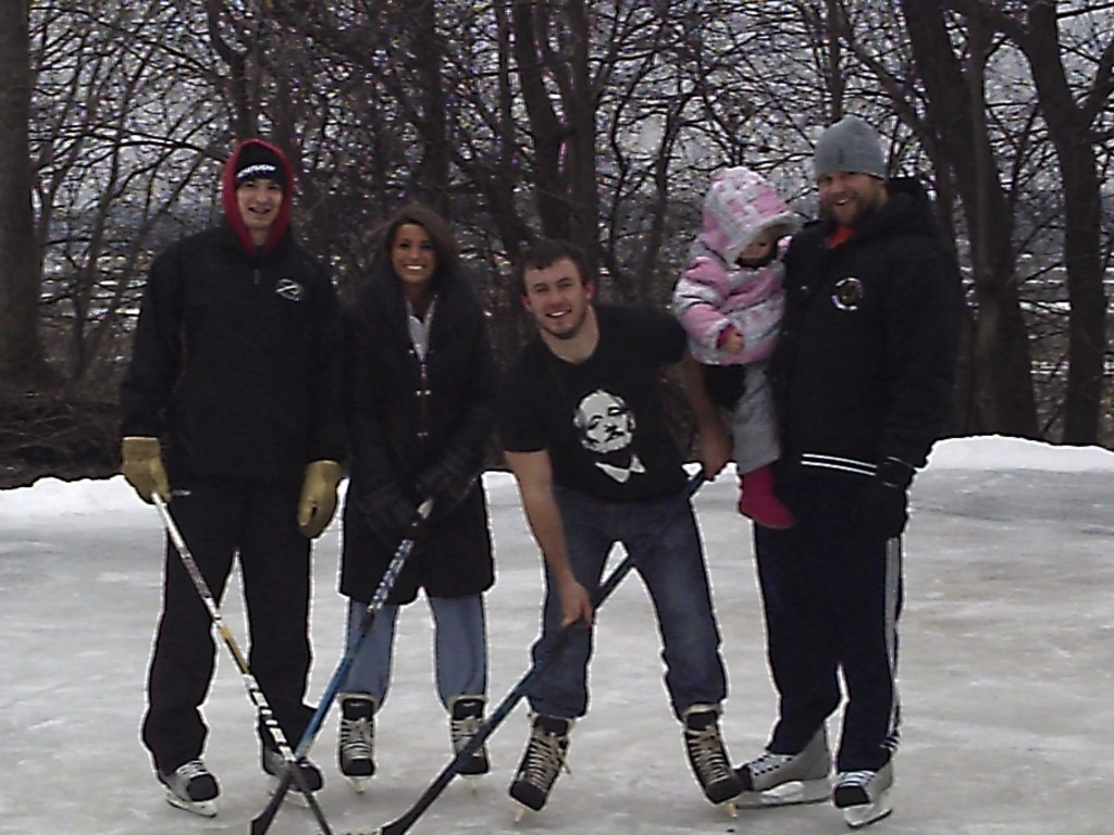 Family is the point, even on skates!