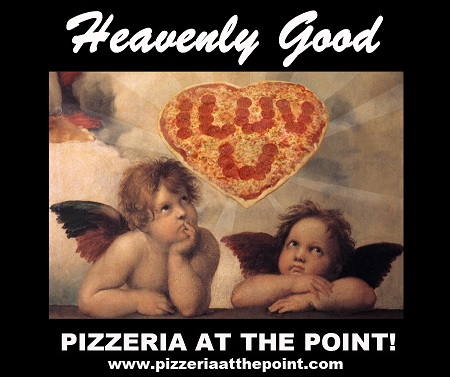 VALENTINES DAY SPECIAL! Every Arrow Has A Point, So Get To The Point For Your Heart Shaped Pizza This Valentines Weekend!